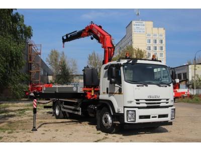 ISUZU FVR34UL-Q с КМУ FASSI F245A.022